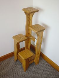 Tiered Wooden Plant Stand - WoodWorking Projects & Plans