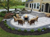25+ best ideas about Stone Patios on Pinterest