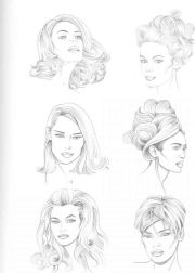 drawing hairstyles ideas