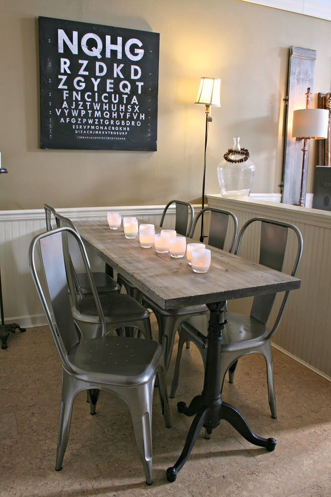 space saver kitchen table and chairs cabinets drawers 17 best ideas about narrow dining tables on pinterest ...