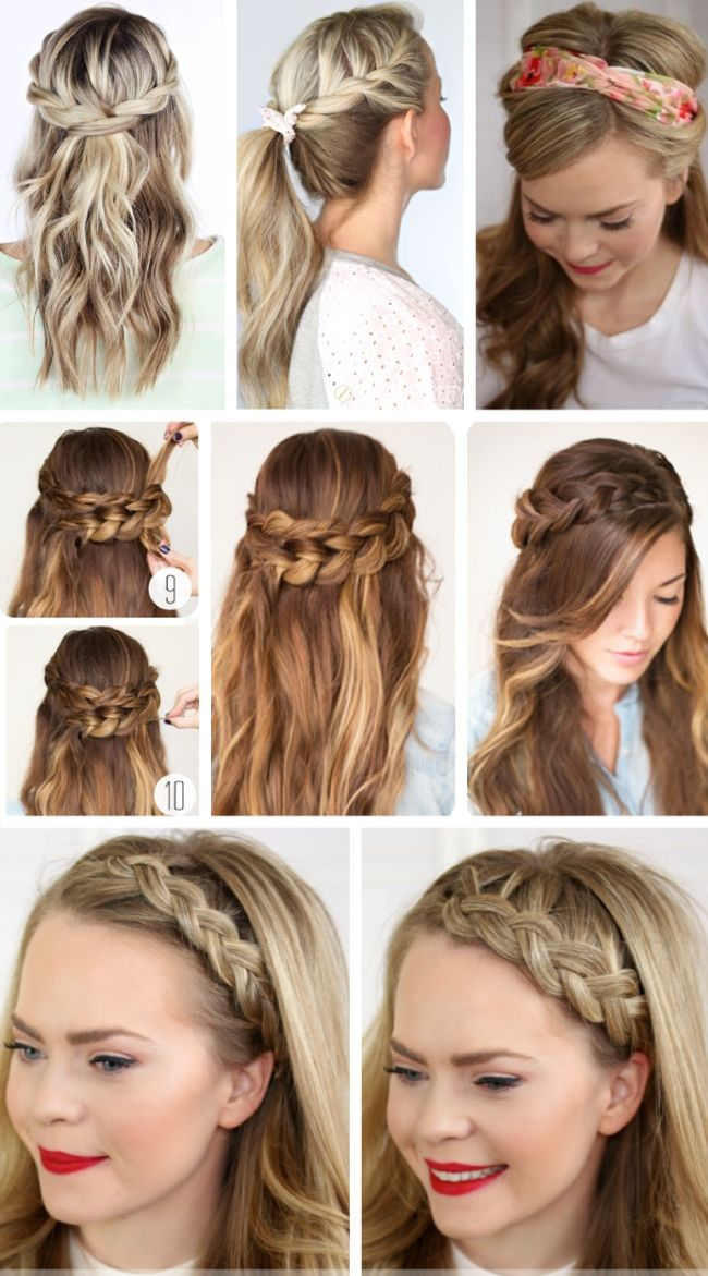 25 Best Ideas About Easy Hairstyle For Party On Pinterest Easy