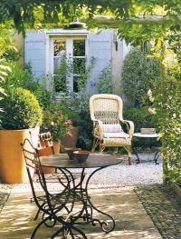 French Quarter Patio Designs | French patio decor 65 ...