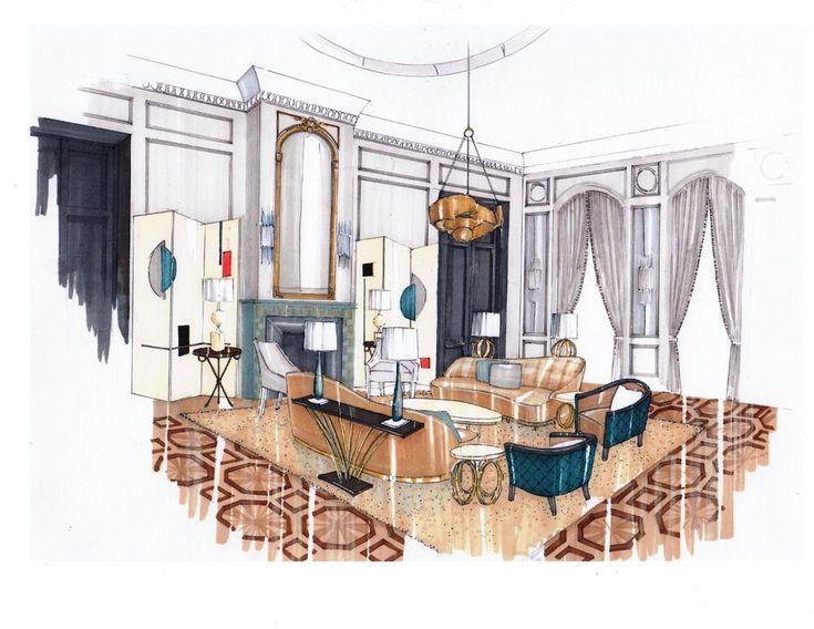 Interior Design Drawing Room