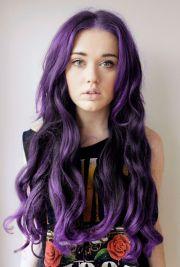 deep purple hair & beauty tips