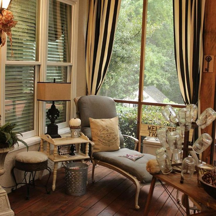 living room curtains walmart black and brown fall on the screened porch #bestof2013   ...