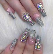 ideas bling nail