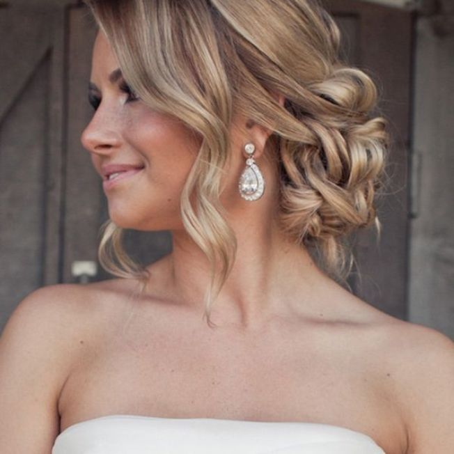Wedding Hair - Wedding Hairstyle Photos | Wedding Planning, Ideas & Etiquette | Bridal Guide Magazine: