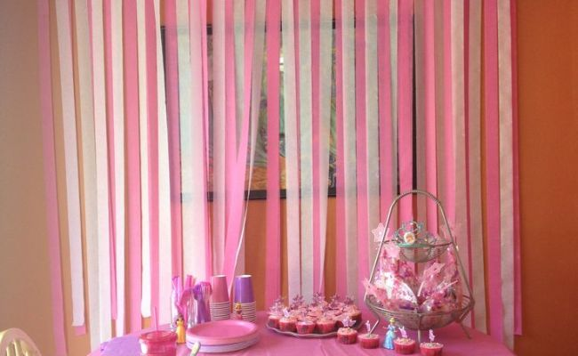 Diy Birthday Party Decorations Love The Streamers On The