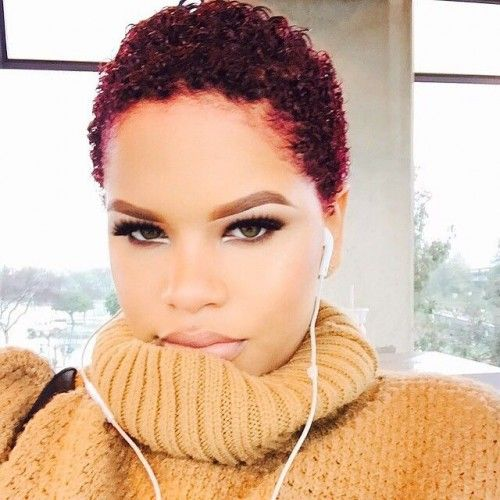 10 Best ideas about Short Natural Hairstyles on Pinterest  Natural black hair Black hair care