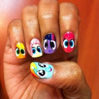 17 Best images about little pony on Pinterest | Nail art ...