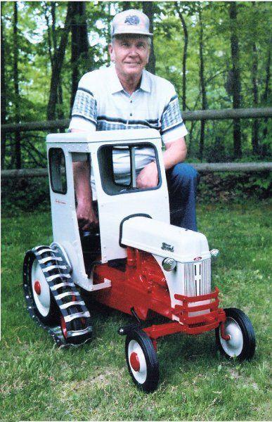 John Chervens 8n Jackson Power Steering