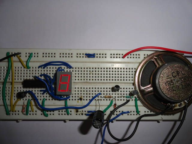 In This Circuit 555 Timer Is Wired As One Shot Timer Whose Timer