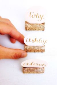 25+ best ideas about Cork Place Cards on Pinterest | Wine ...