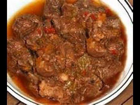 RECETA DE COCINA Carne Guisada Fricas de carne de res