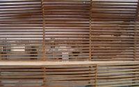 Garden Wood Slat screen wall | facades | Pinterest | Wood ...