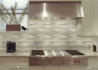 mosiac tile backsplash | Watercolours Glass Mosaic Kitchen ...
