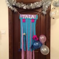 Disney Frozen door decoration DIY | Disney Frozen ...