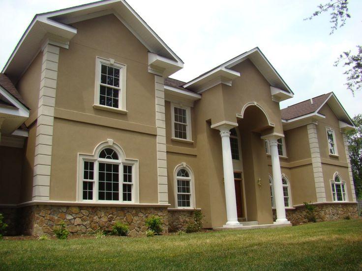 beautiful exterior stucco colors ideas amazing design ideas - Exterior Stucco House Color Ideas