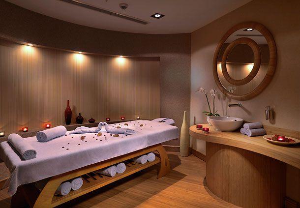 massage therapy room design  Caretta Massage Room