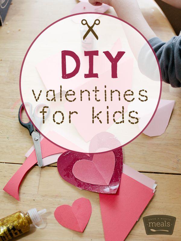 DIY Valentines For Kids And Homemade Playdough Recipe