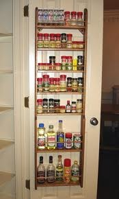 Door Spice Rack Spice Racks And The Doors On Pinterest