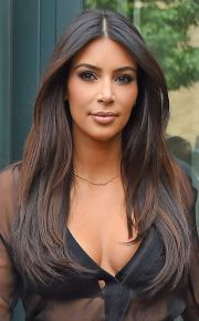 kim kardashian fall 2014 hair