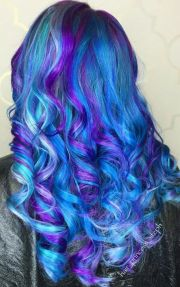 1000 colorful hair