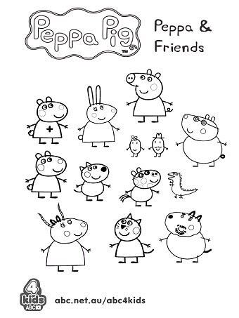 17+ best ideas about Peppa Pig Colouring on Pinterest