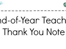 17 Best ideas about Teacher Thank You Notes on Pinterest