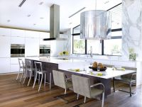 Table extension. Merge your island with your kitchen table ...