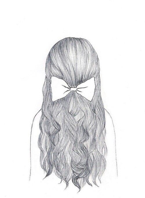 Hair Bow Drawing : drawing, Pencil, Drawing, Pencildrawing2019