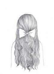 cute bow hair hairstyles