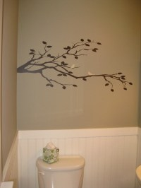 Bird Duo on Tree Branch Vinyl Wall Decal  Custom ...
