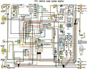 Electrical Wiring Diagrams |  Beetle 1971 Electrical