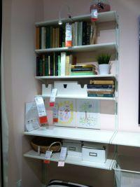 Ikea wall shelves ALGOT | Home office organization ...