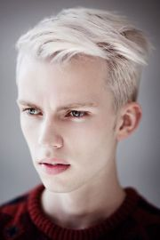white hair men collection of