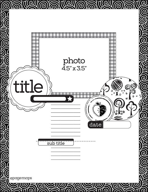 17 Best images about SCRAP-Sketch A4 on Pinterest