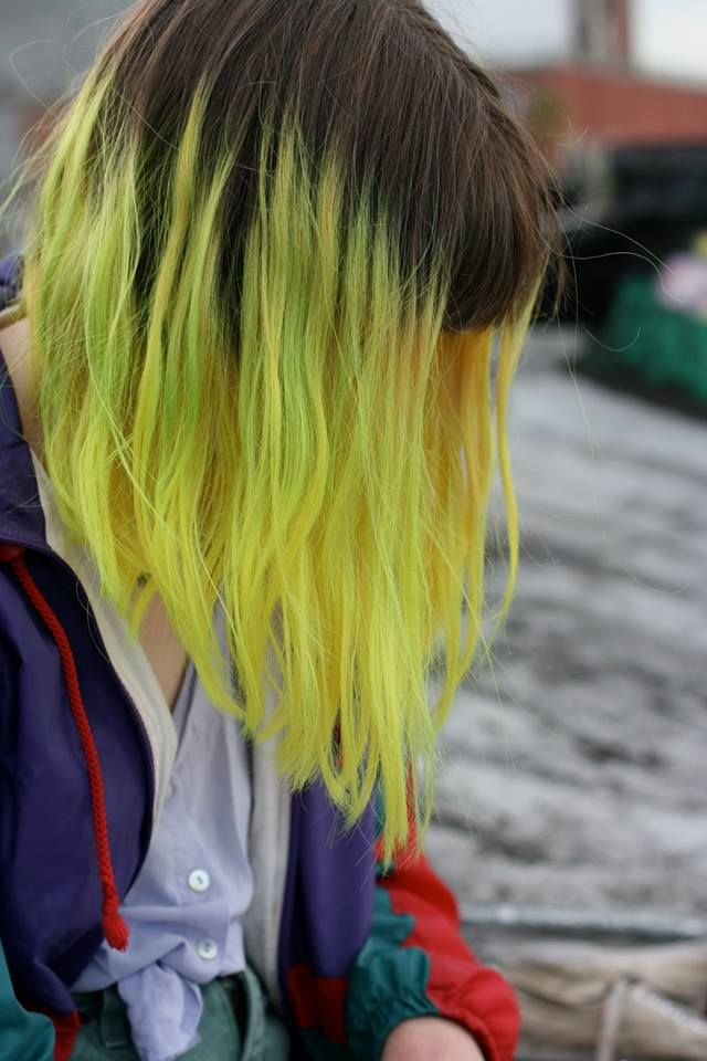 25 Best Ideas About Yellow Hair Dye On Pinterest Yellow