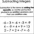 25+ best ideas about Integers foldable on Pinterest