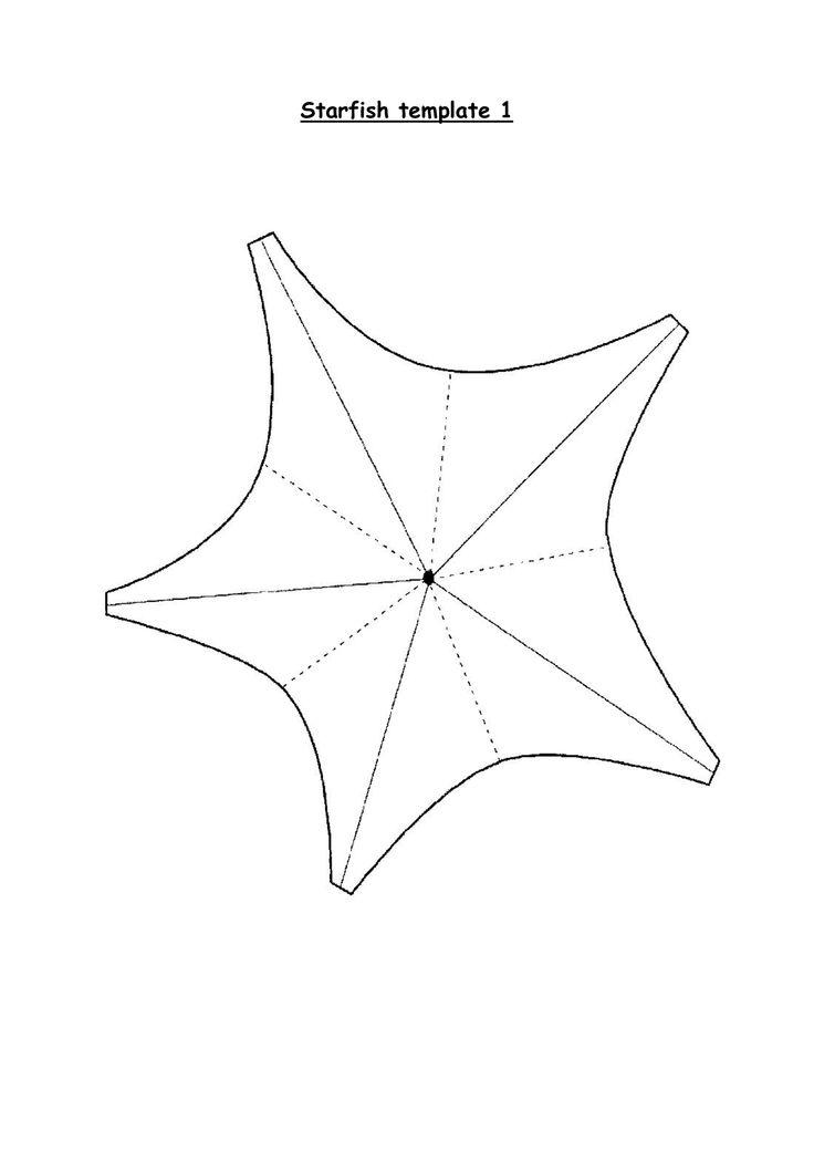 25+ best ideas about Starfish template on Pinterest
