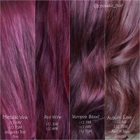 17 Best ideas about Red Violet Hair on Pinterest