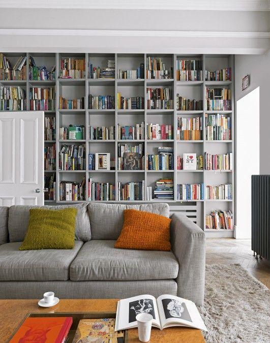 1000 ideas about Living Room Bookshelves on Pinterest