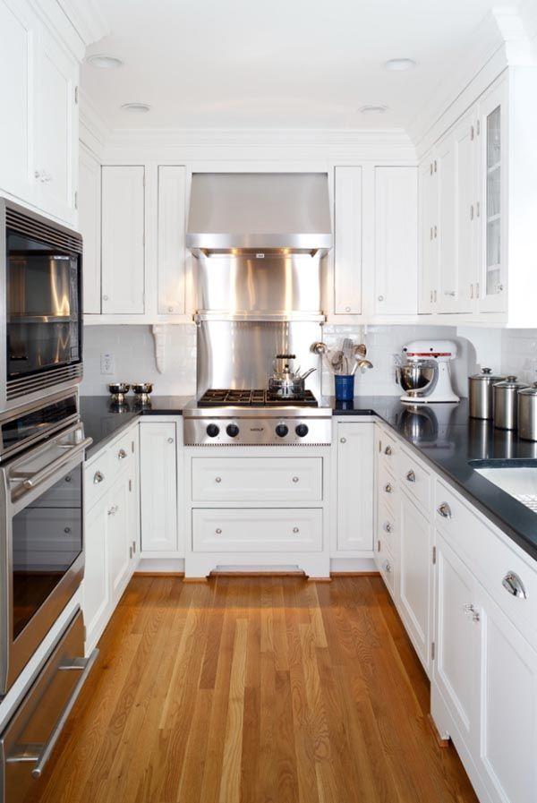 Small Corridor Kitchen Design Ideas