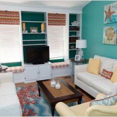 Yellow Area Rug Living Room Paint Ideas Green Aqua Beach Themed | Thanks To Lisa Wolfe ...