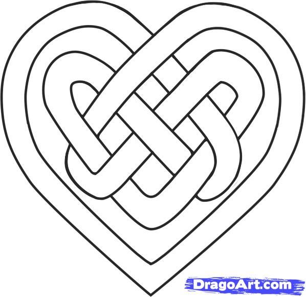 25+ best ideas about Celtic heart tattoos on Pinterest