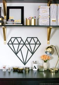 17 Best ideas about Tape Wall Art on Pinterest | Tape wall ...