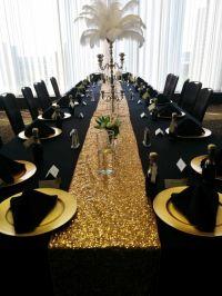 25+ best Gold Centerpieces ideas on Pinterest | Glitter ...