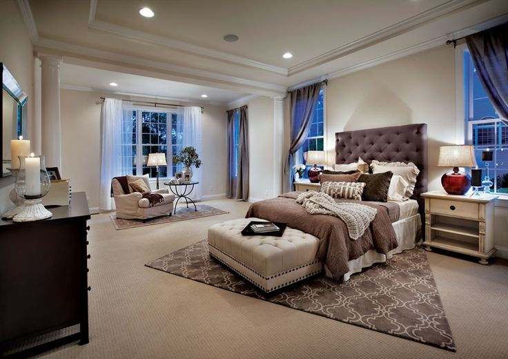 Toll Brothers FirstFloor Master Bedroom Suite  homes