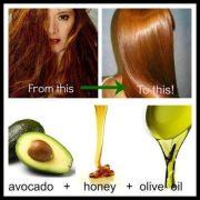 intensive hair mask - avocado