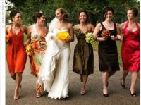 10 Bridesmaid Dresses in Autumn Wedding Colours #Fall # ...